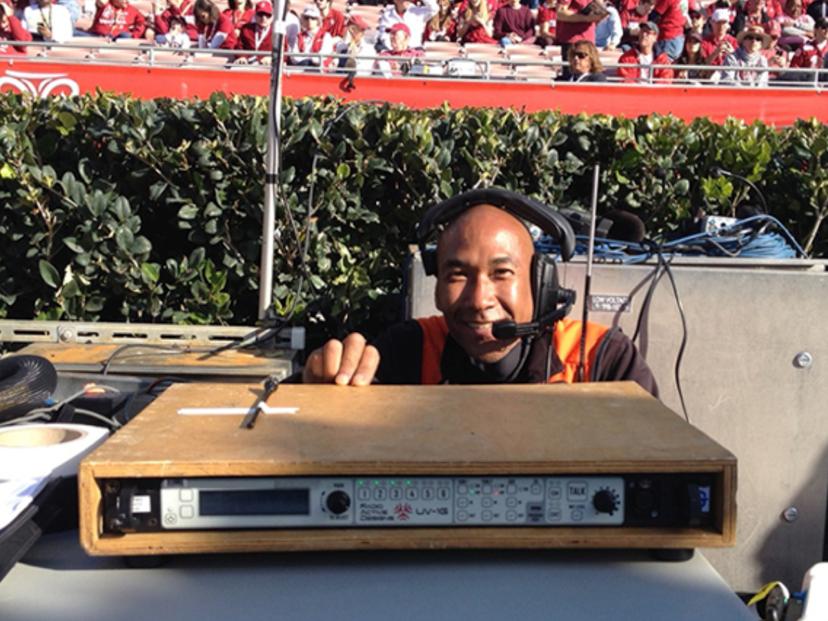News Radio Active Designs Ellies Intercom Wiring Diagram Wireless Plays Integral Role During Rose Bowl 2016